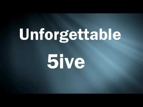 Video thumbnail for MHSAA Football Week 4 Unforgettable 5ive