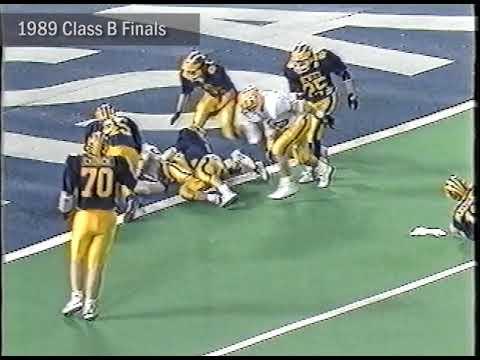 Video thumbnail for #MHSAAMoments: 1989 Class B Football Final