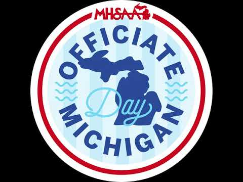 Video thumbnail for Officiate Michigan Day - playlist cover