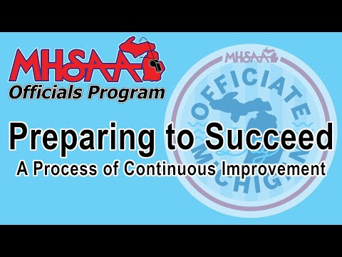 Video thumbnail for Wrestling - Preparing to Succeed: A Process of Continuous Improvement