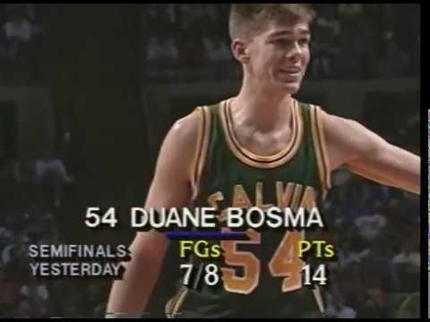 Video thumbnail for 1992 Class B Final - Saginaw Buena Vista v. Grandville Calvin Christian