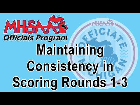 Video thumbnail for Competitive Cheer - Maintaining Consistency in Scoring Rounds 1-3