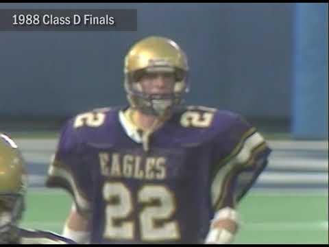 Video thumbnail for #MHSAAMoments: 1988 Class D Football Final