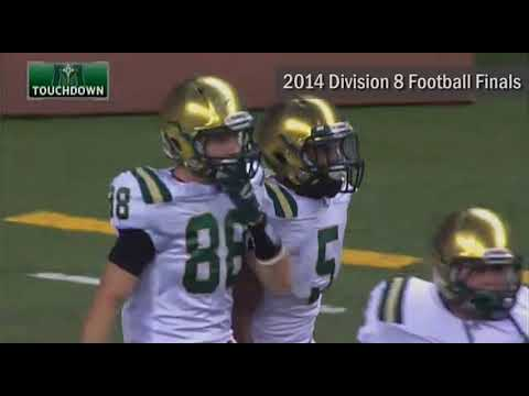 Video thumbnail for #MHSAAMoments: 2014 Division 8 Football Final